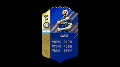 FIFA 18 Calcio A Team of the Season Icardi