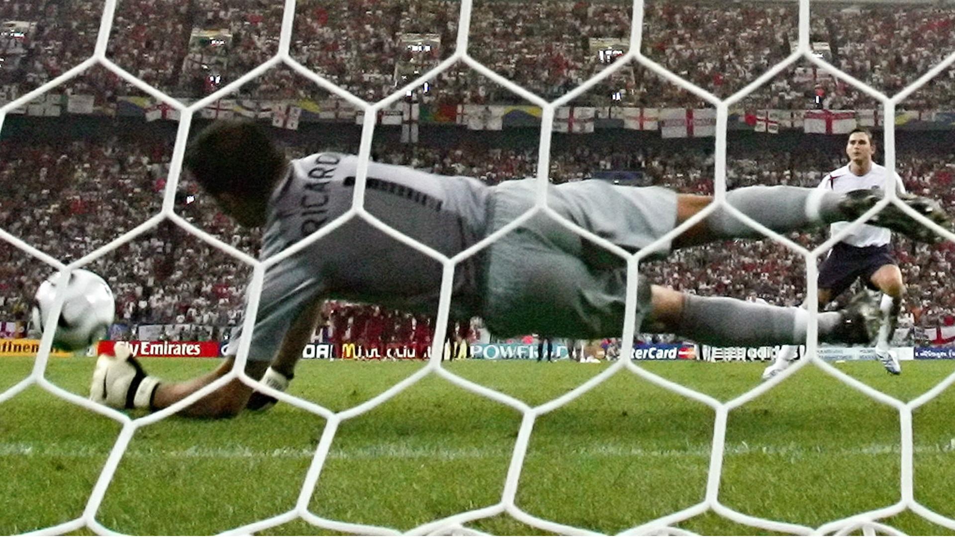 Ricardo Portugal vs England World Cup 2006 Quarter Final