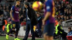 021218 Barcelona Villarreal Arturo Vidal Ernesto Valverde