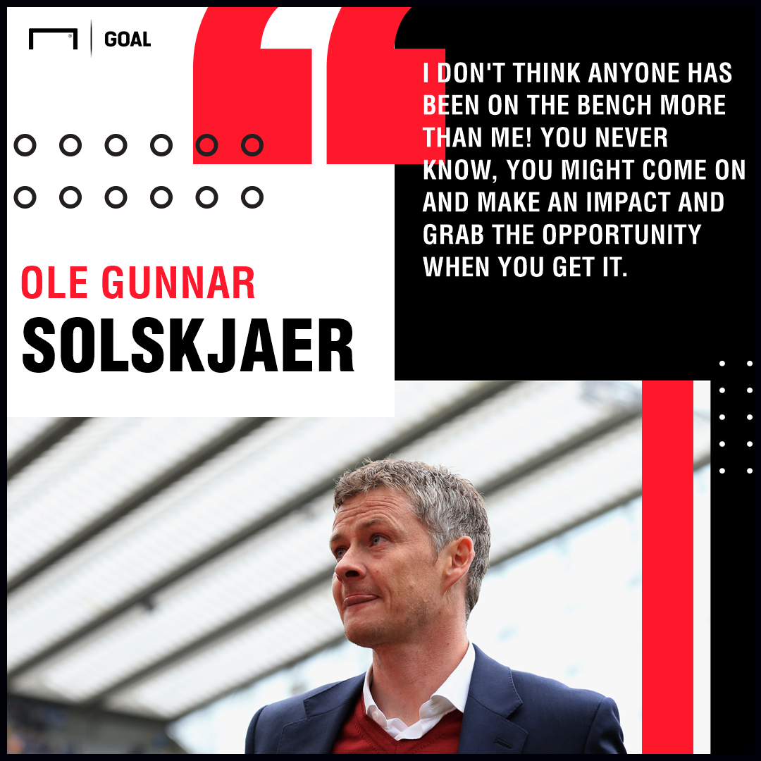 Ole Gunnar Solskjaer: Marcus Rashford can be as good as Harry Kane