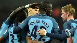 Yaya Toure Manchester City 2017
