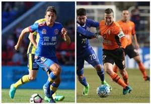 Mateo Poljak Newcastle Jets A-League Matt McKay Brisbane Roar AFC Champions League