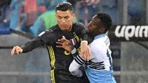 Cristiano Ronaldo Bastos Lazio Juventus Serie A