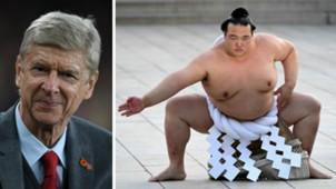 Arsene Wenger Sumo Wrestler