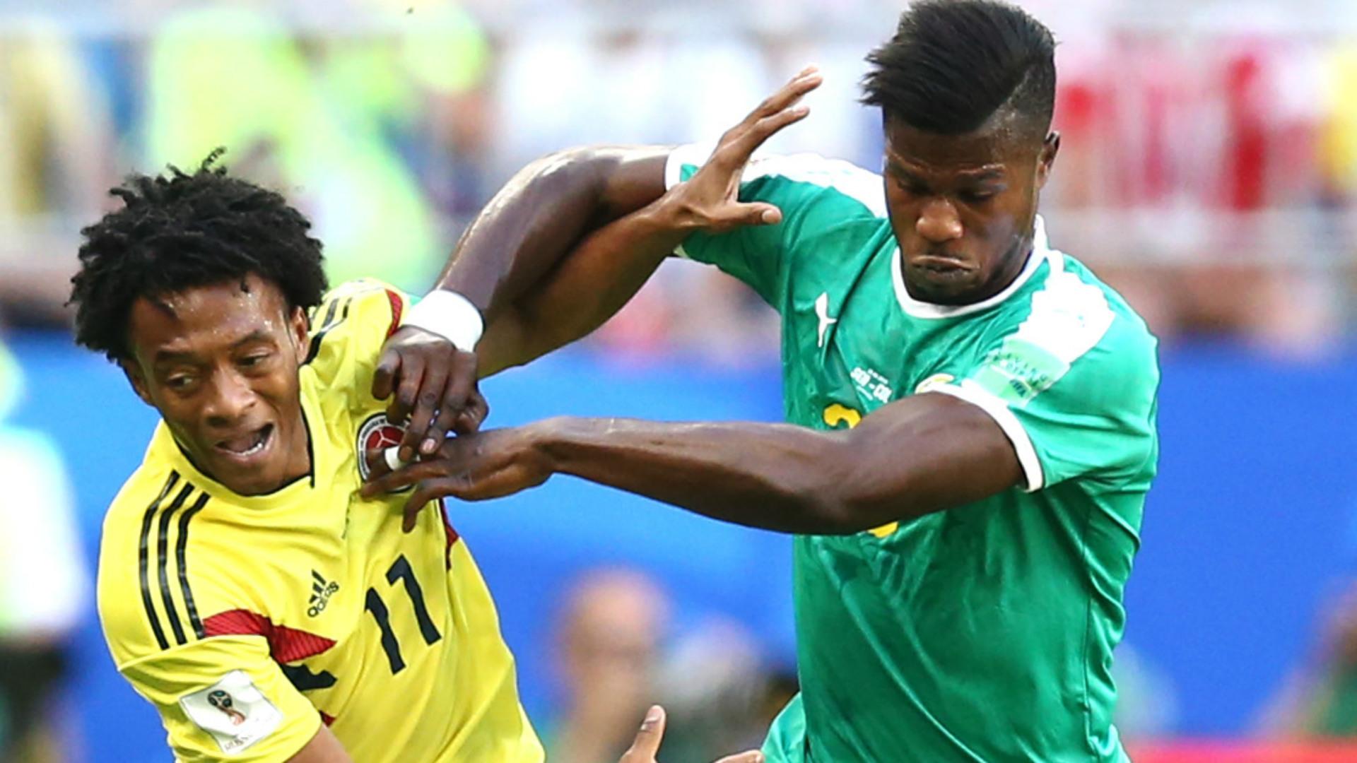 Cuadrado Colombia Senegal WC Russia 28062018