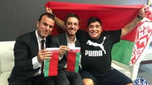 Diego Maradona  Dynamo Brest Bielorrusia