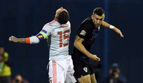 Ramos Perisic Croatia Spain UEFA Nations League