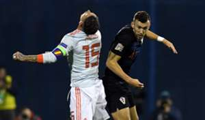Ramos Perisic Croatia Spain UEFA Nations League