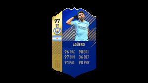 FIFA 18 Ultimate Team of the Season Aguero
