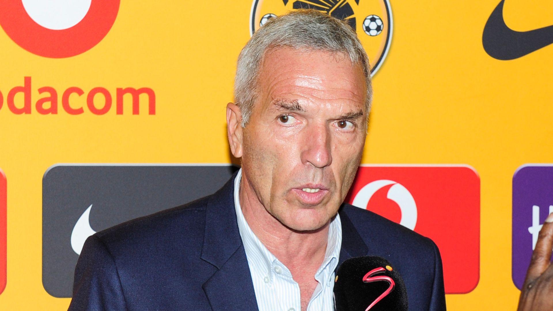 Ernst Middendorp, Kaizer Chiefs, January 2019
