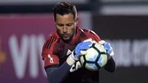 Diego Alves Santos Flamengo Brasileirao Serie A 02082017