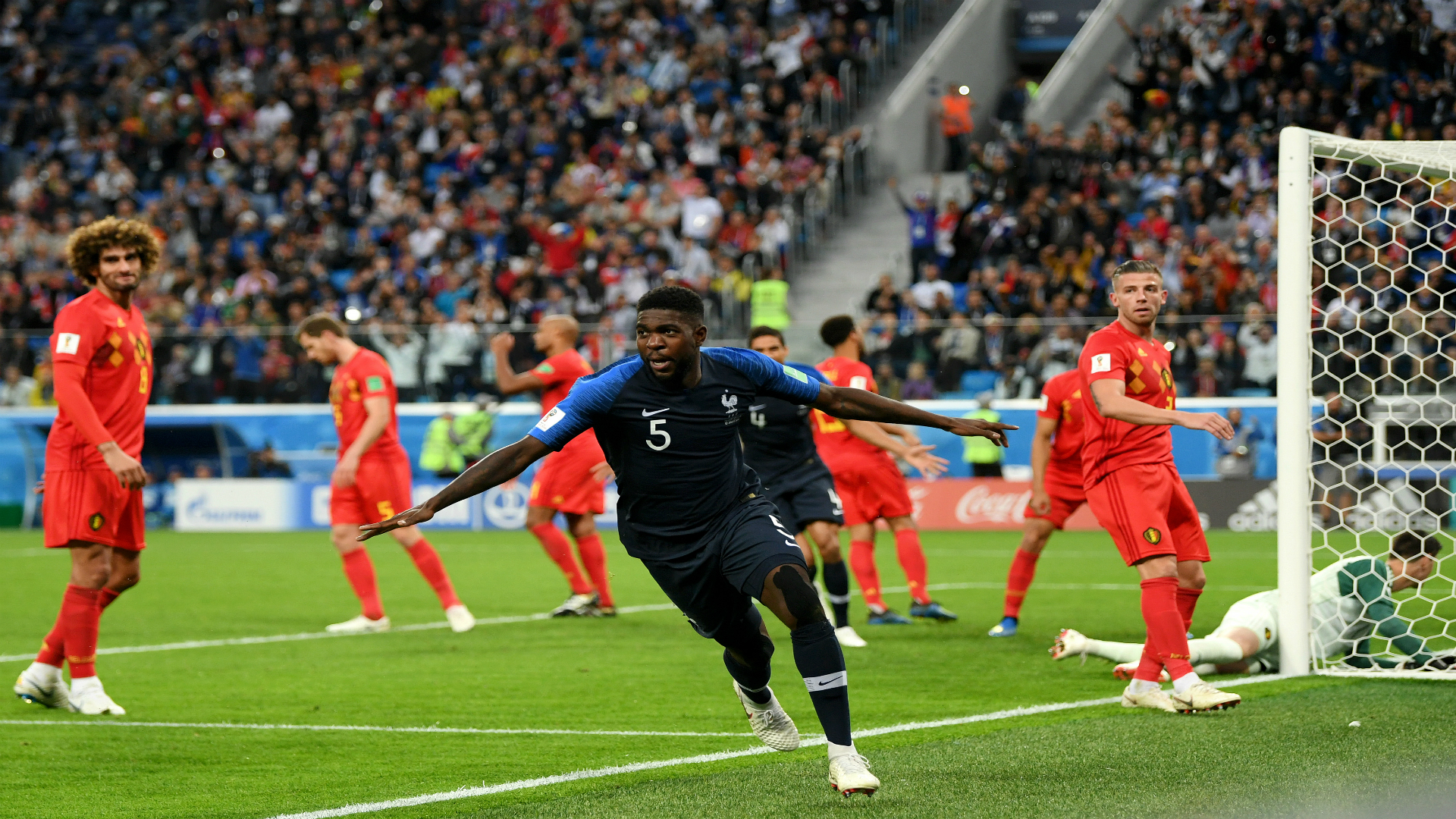 VAR penalty gives France 2-1 halftime lead over Croatia