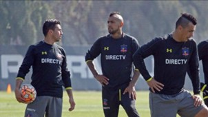 Arturo Vidal Esteban Paredes Gonzalo Fierro Colo Colo