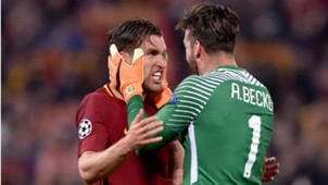 Kevin Strootman, AS Roma - Barcelona, Champions League 04102018