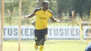Timothy Otieno of Tusker v Sofapaka.