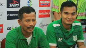 Djadjang Nurdjaman & Dhika Bhayangkara - PSMS Medan