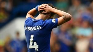 Cesc Fabregas Chelsea Burnley