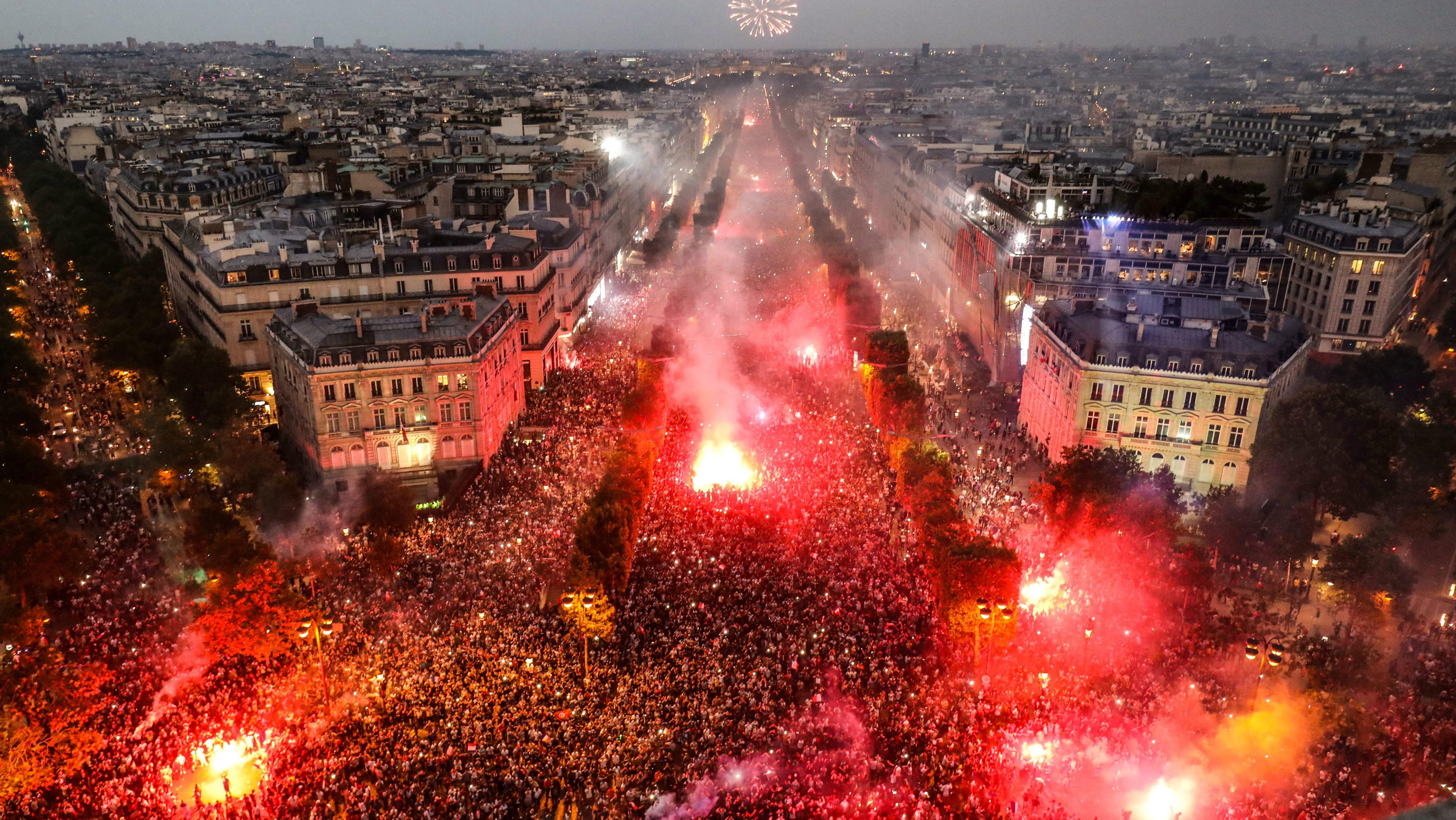 Champs-Élysées - França - 15/07/2018