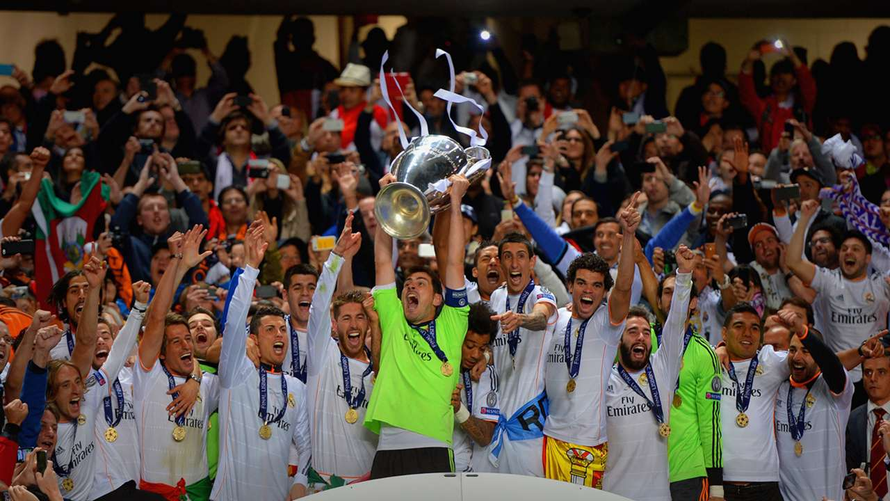 Real celebrate final 2014