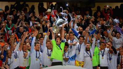 Real celebrate final 2014