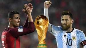 Cristiano Ronaldo Lionel Messi World Cup