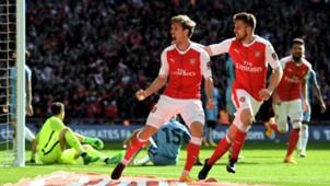Nacho Monreal Arsenal Manchester City FA Cup