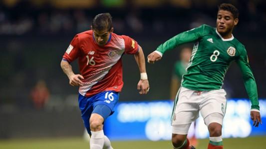 Jonathan dos Santos Mexico Cristian Gamboa Costa Rica