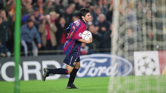Javier Saviola Barcelona