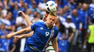 Kolbeinn Sigthorsson Iceland Hungary Euro 2016