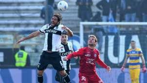Alessandro Lucarelli Riccardo Maniero Parma Novara Serie B 01272018