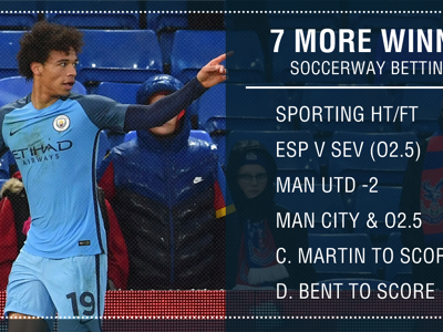 Manchester United and Manchester City feature in six more Soccerway