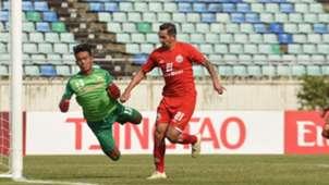 Silvio Escobar - Shan United vs Persija Jakarta