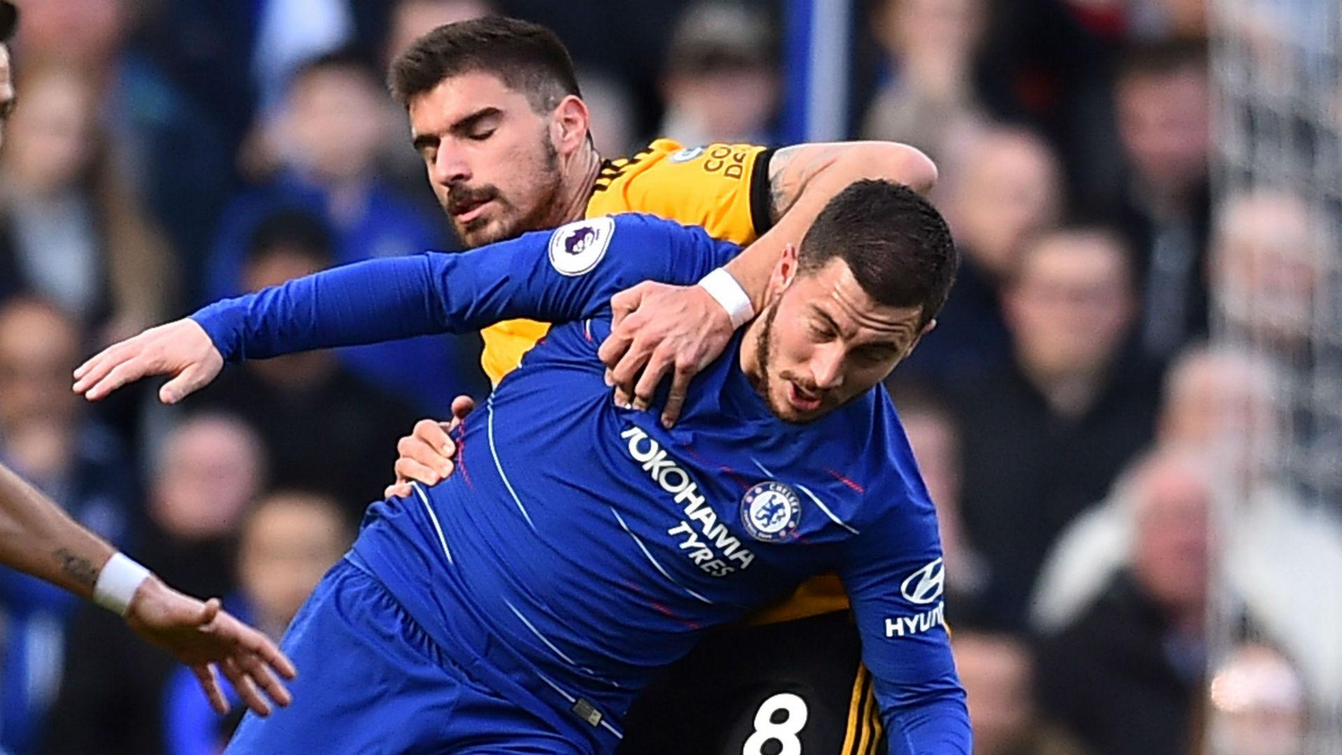 Eden Hazard Chelsea Wolves 100319