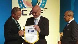 Fouzi Lekjaa, Gianni Infantino, Ahmad Ahmad