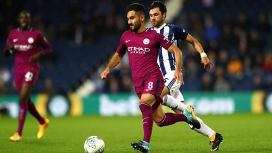 Ilkay Gündogan, Manchester City - West Bromwich, 09202017