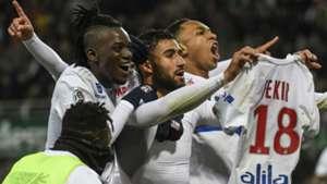 Nabil Fekir Saint-Etienne Lyon Ligue 1 05112017