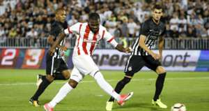 El Fardou Ben Nabouhane Partizan Olympiacos Champions League