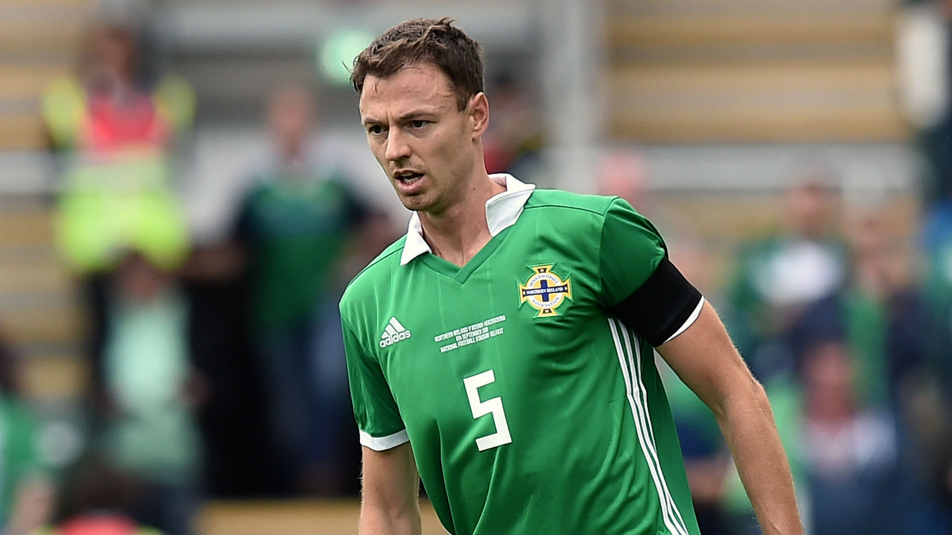 Jonny Evans Northern Ireland 2018
