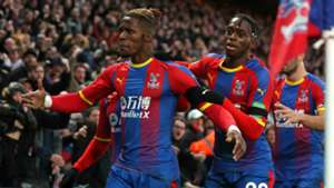 Wilfried Zaha, Aaron Wan-Bissaka - Crystal Palace