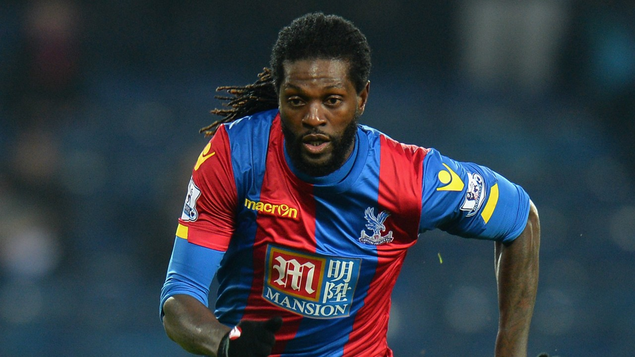 Emmanuel Adebayor Crystal Palace 2016
