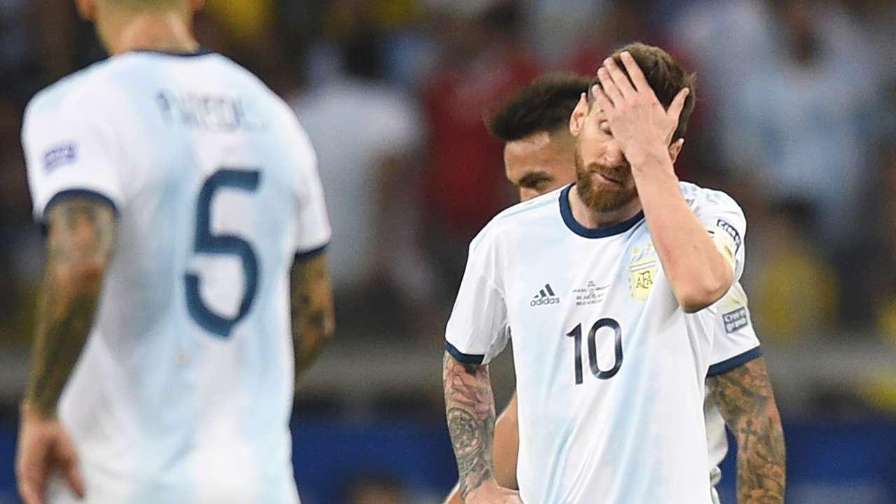 Messi Brasil Argentina Copa America 02072019