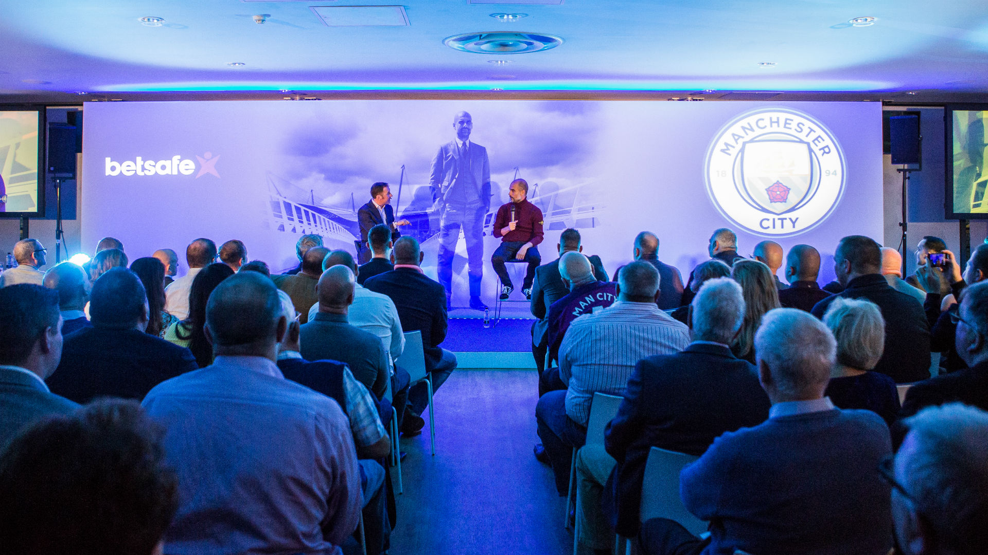 Pep Guardiola Manchester City Evening With The Manager