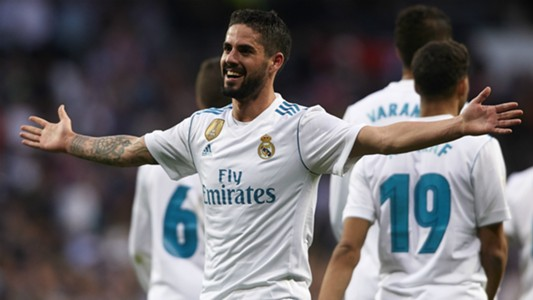 Isco Real Madrid Celta LaLiga