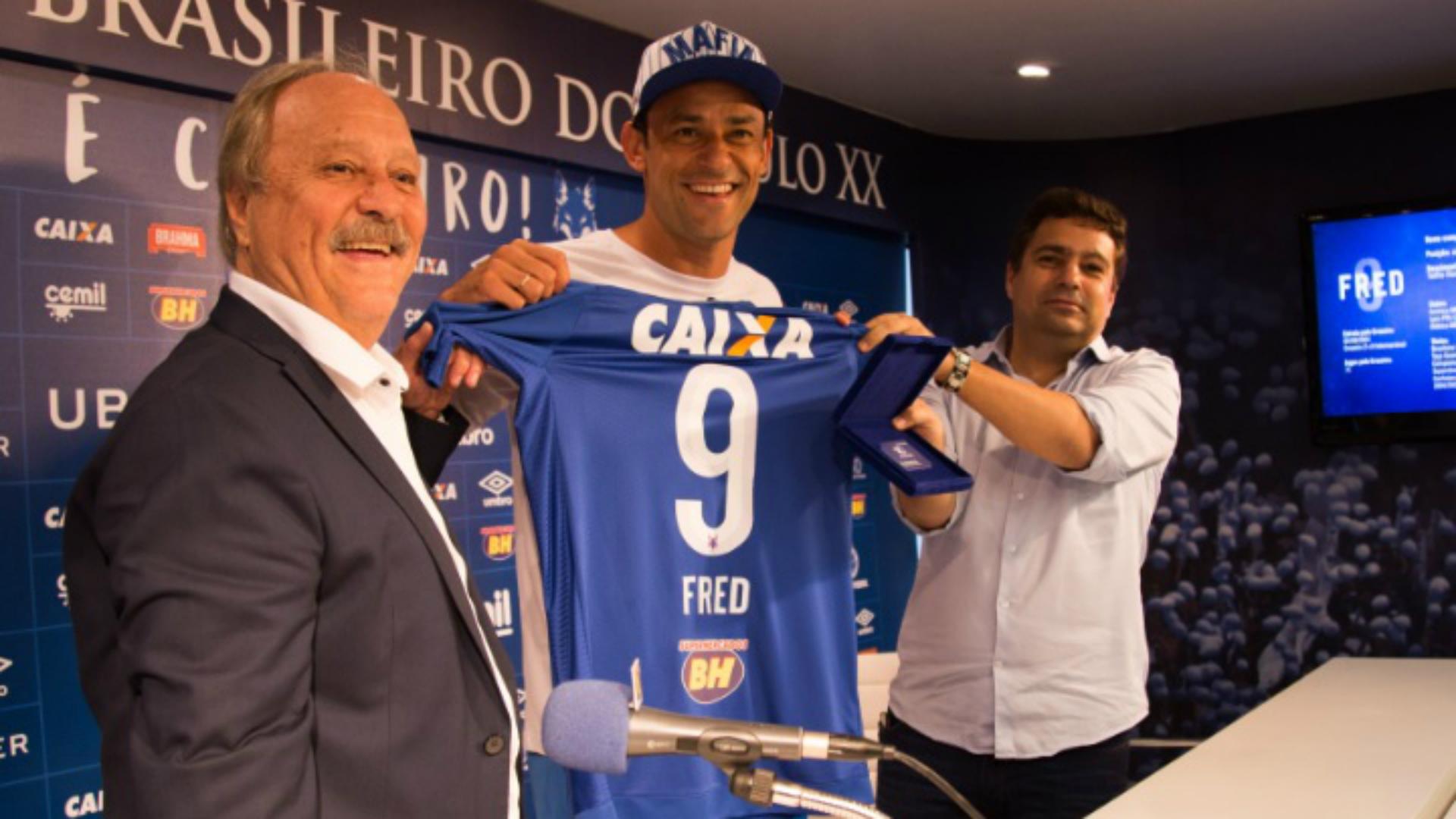 Fred Wagner Pires de Sá Itair Machado Cruzeiro