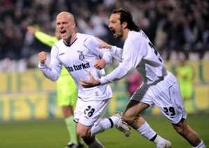 Yusuf Simsek Fabian Ernst Goal Celebration Besiktas