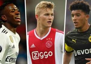 Siapa saja talenta belia U-19 yang memiliki nilai pasar tertinggi menurut laman <i>Transfermarkt</i>? Dari Vinicius Junior sampai Matthijs de Ligt dan Kylian Mbappe, simak selengkapnya berikut ini!