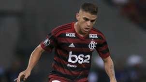 Cuellar Flamengo Pe?arol Libertadores 03 04 2019