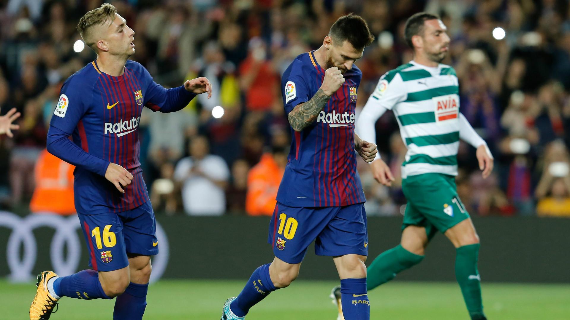 Messi Deulofeu Barcelona Eibar LaLiga