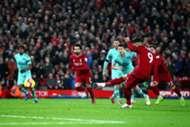 Roberto Firmino Liverpool vs Arsenal Premier League 291218