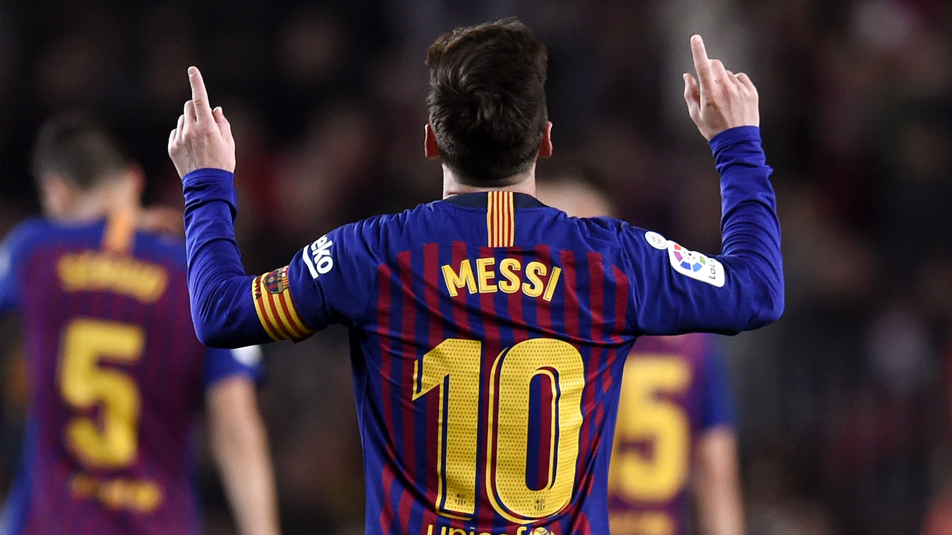 Lionel Messi Barcelona vs Celta Vigo La Liga 2018-19